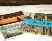 Beautiful Pair of Vintage Travel Guidebooks...China..