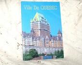 Ville De Quebec..Vintage Souvenir Softcover Book..Beautiful..