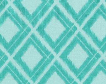 Simply Color Aquatic Blue Ikat Diamonds 10806 - 19