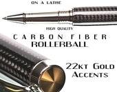 Carbon fiber Rollerball Pen Writing Pen