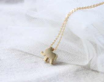 Cute elephant  Necklace - S2091-2