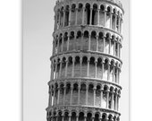 "Italy Photography - Italian decor, landmarks of Europe, home decor, photos of Italy - ""Pisa"" - 8x10 Fine Art Photograph B&W or Sepia"