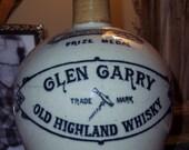 Vintage Glen Garry Old Highland Whiskey Jug Circa early 1900s