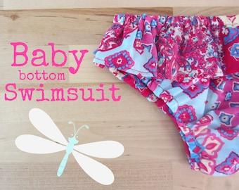 Baby Girl Swimsuit, Ruffle swimsuit for Little Girls, Infant Swimwear, Toddler swimsuit
