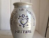 Personalized Stoneware Vase