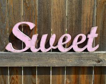 Wood Words - Sweet