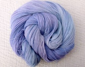 Hand Dyed Sparkle Sock Yarn 100g Silver Sparkle - Tranquility 2