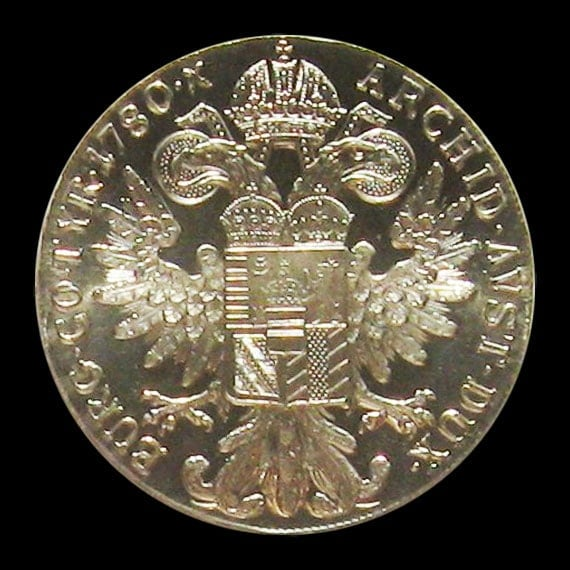 1780 Maria Theresa Thaler Proof Like  (Re-strike)