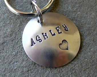 You are Loved personalized Key Chain- the Ashley