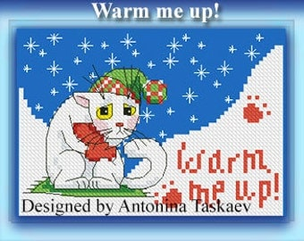 Warm me up - Cross stitch pattern