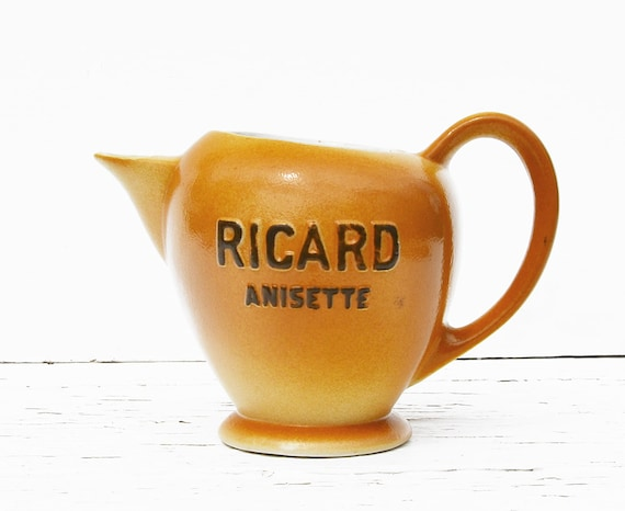 Water pitcher Pastis Ricard FRENCH