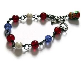 Matryoshka Doll Bracelet