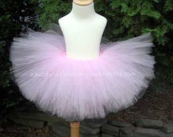 Soft Pink Adult or Teen Tutu Bridesmaid Breast Cancer Walk