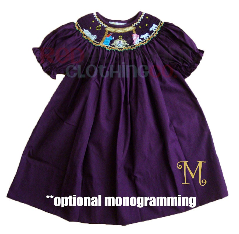 Smocked Holiday Dresses For Infants - Holiday Dresses
