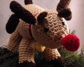 Rudolph Crochet Amigurumi