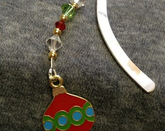 Holiday Ornament Book Mark