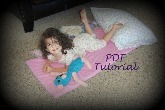 Super Easy Kindermat Cover Tutorial Nap Mat Cover Pdf