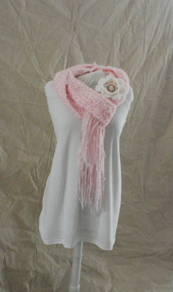 soft romantic cameo scarf free shipping