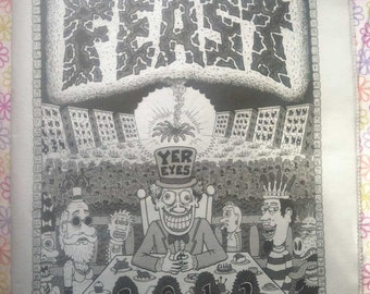 FEAST yer eyes 2012 A New Orleans Illustration & Comix Anthology