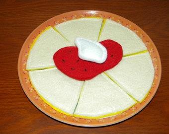 Felt Quesadilla Set - Play Food Mexican Cheese Quesadilla