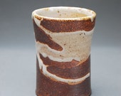 Wood-fired Stoneware Cup with Shino Glaze 1
