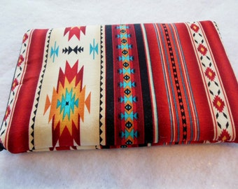 Sale-Ipad mini/Kindle 3/Nook Color / Kindle Fire / Tablet PC / eReader Sleeve Case Cover Tucson Southwestern Fabric