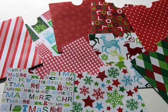Christmas CD sleeves DVD covers. Perfect for photographers. Set of 10. Listing 15.