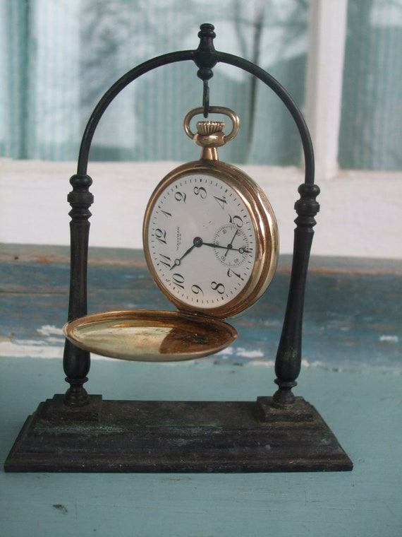 Bronze Pocket Watch Stand Free US Shipping