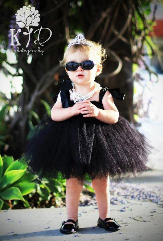 Audrey Hepburn Inspired Tutu Dress Photography Prop Birthday