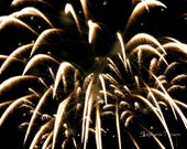 New Year, Black, Gold, Black and Gold,Fireworks, Photography - 8daysOfTreasures
