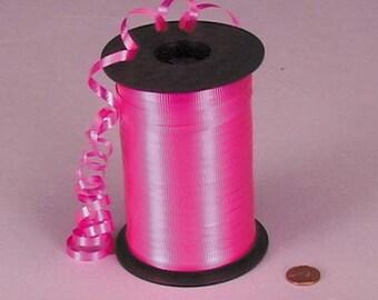 Tanday Hot Pink  500 yards Balloon Curling Ribbon