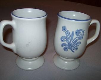 Coffee Cups Mugs Yorktowne Pattern Pfaltzgraft 1967