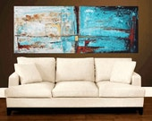 "72"" art Painting large painting Wall Decor Wall Art   abstract painting wall art , from jolina anthony signet  express shipping"