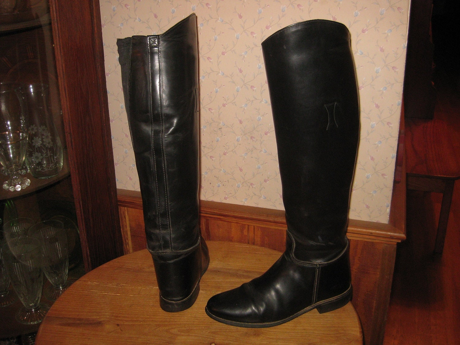 leather boots made in usa womens 7 1 2
