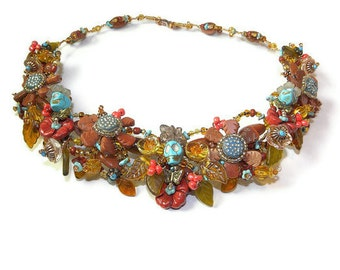 Dia de los Muertos Collar Necklace Southwest Style WJ106