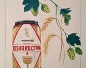 Resurrection Ale 'Beertanical' Print