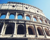Colosseum, When in Rome, Italy Photography, Rome, Travel Photography, Fine Art Photography, Home Decor, Rome Photograph