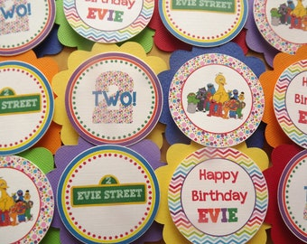 Sesame Street Friends Inspired Collection: Cupcake Toppers