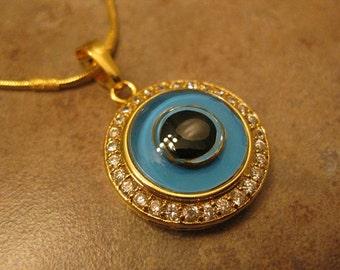gold evil eye necklace, evil eye jewelry, evil eye pendant, gold evil eye, gold necklace, gold evil eye charm, eye jewelry, eye necklace