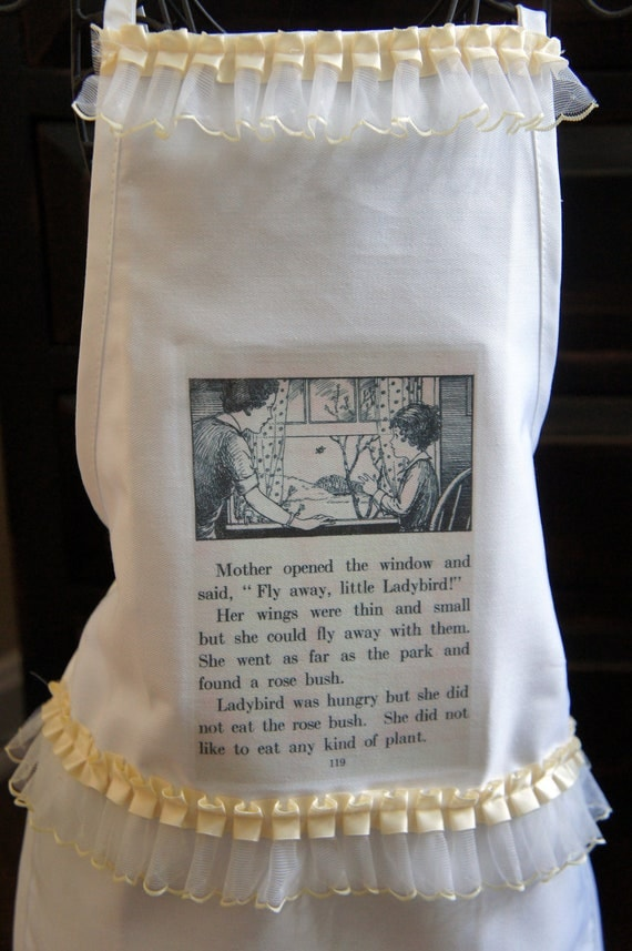 Little Girl Storybook Apron