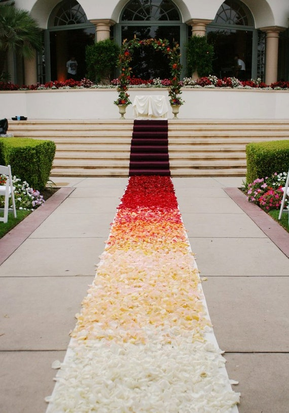 flower petals for wedding ombre aisle runner custom design flower petals are not 4198