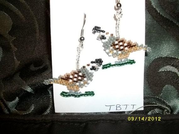 Quail Earrings