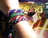 Avengers Inspired Friendship Bracelets - Mighty 4