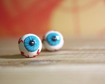 Eyeball Post Earrings