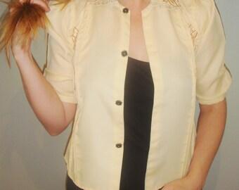 folksy blouse