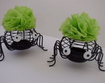 80's Hair Band Halloween Spiders