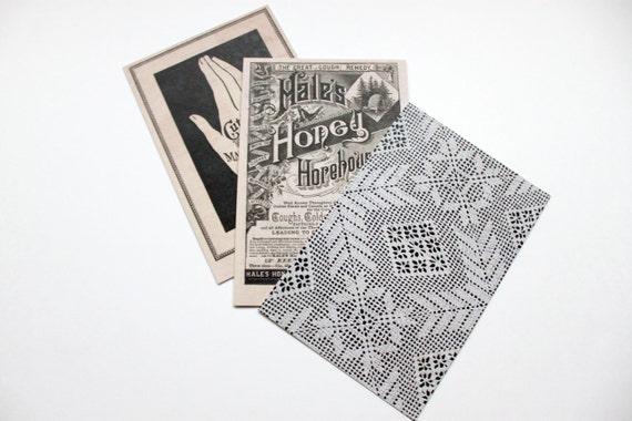Postcard Set, Strange Household - Set of 8 postcards
