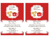 Cookies and Cocoa Holiday or Winter Christmas Printable Invitation