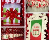 Elves Wanted Winter or Holiday Printable Set
