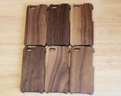Sale:  Black Walnut Wood iPhone 5 case with Solid Back